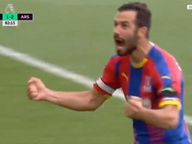 Milivojevic made no mistake from the spot. Screenshot/RMCSport