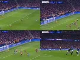 Les plus beaux buts de la 1ère journée de la Ligue des Champions. Captura/Movistar+