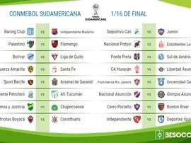 Imagen del trofeo de la Copa Sudamericana. EFE/Archivo