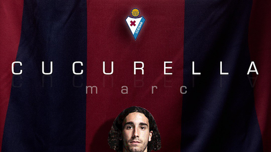 Cucurella refuerza la zaga 'armera'. Twitter/SDEibar