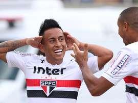 São Paulo empatou a uma bola frente ao Bahia. Twitter/SãoPaulo