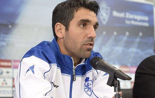 El jugador del Real Zaragoza Juan Emmanuel Culio. RealZaragoza