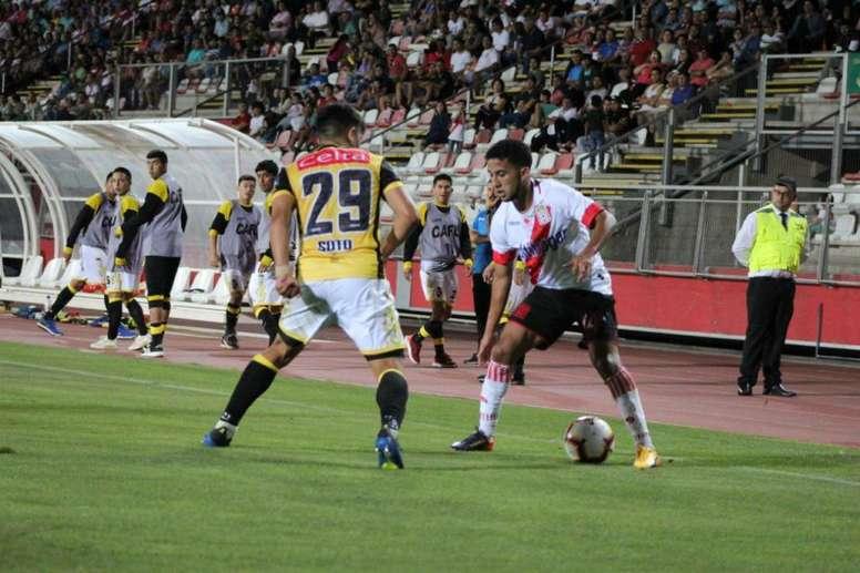 Curicó Unido empató a cero en casa ante Coquimbo. Twitter/curicounidocdp