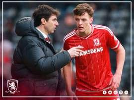 Dael Fry regresa al Middlesbrough después de su periodo de cesión. MiddlesbroughFC