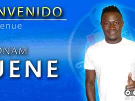 Dakonam Djene, nuevo futbolista del Getafe. GetafeCF