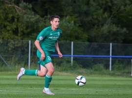 Daler Kuzyayev, nouveau joueur du Zénith Saint-Pétersbourg. FKZenit