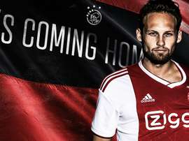 Blind has completed a return to his former club. Twitter/AFCAjax
