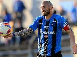Damián Macaluso deja el Liverpool de Montevideo para jugar en el Juventud Las Piedras. Tenfield