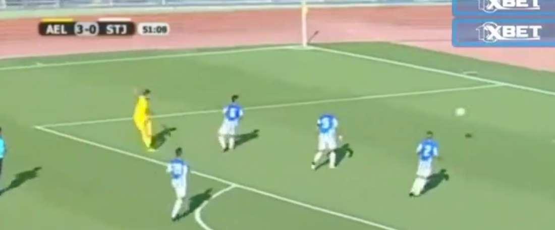 Dani Benítez marca primeiro golo na Liga Europa. Twitter