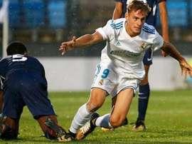 Dani Gómez está a perder espaço no Real Madrid Castilla. RealMadrid