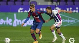 Valladolid y Levante empataron en el José Zorrilla. LaLiga