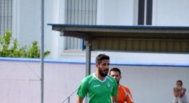 Dani Hedrera, nuevo jugador del Algeciras. Twitter