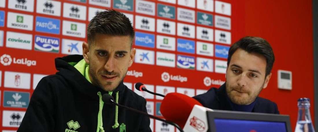 Dani Ojedo sera absent pour la reprise. Granada FC