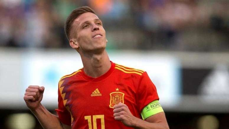 Dinamo Zagreb's manager confirms it: Dani Olmo is on his way. EFE