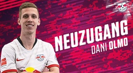 RB Leipzig secure signing of Olmo from Dinamo Zagreb. DieRotenBullen
