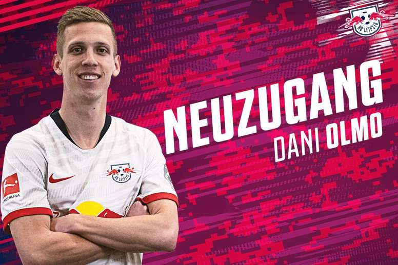 Así anunció el RB Leipzig el fichaje de Dani Olmo. DieRotenBullen