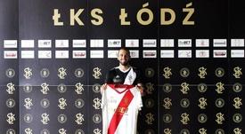 Dani Ramírez será presentado en breve como nuevo jugador del Lech Poznan. LKSLodz/Archivo