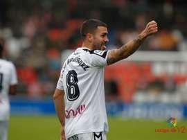 Dani Rodriguez demande plus de respect pour Majorque aux arbitres. AFP