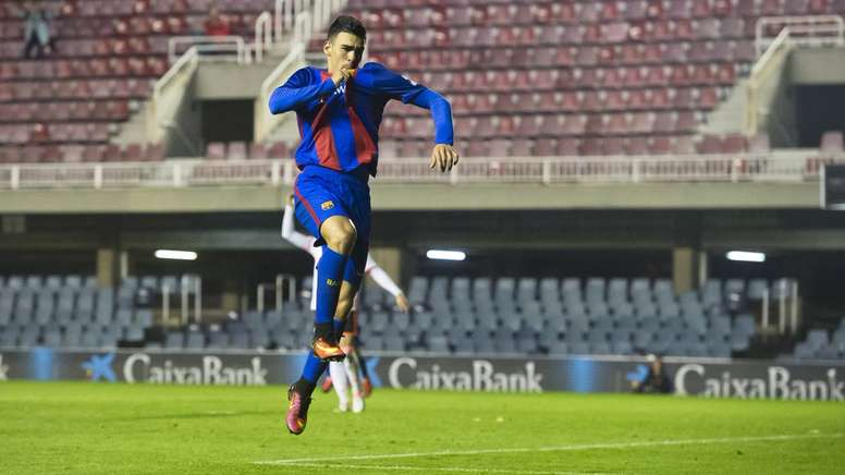 Dani Romera firmó un doblete. FCBMasia