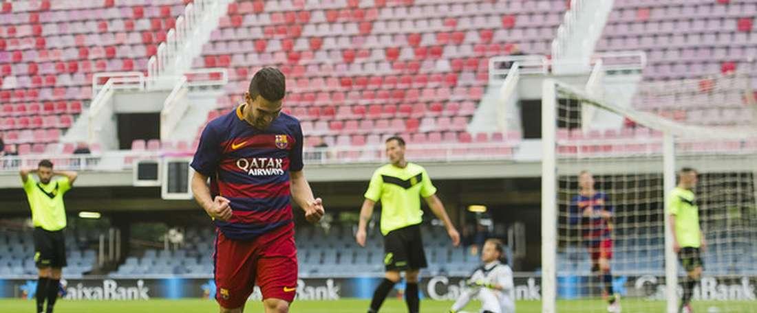 César Rodríguez reconoció que la situación se debe aclarar. FCBarcelona