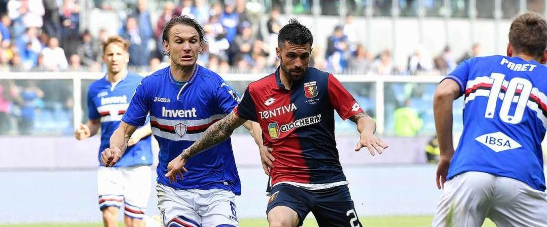 Daniel Bessa a joué un an et demi en prêt au Genoa. GenoaCFC