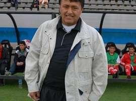 Daniel Bustos, en un partido con Progreso. Facebook