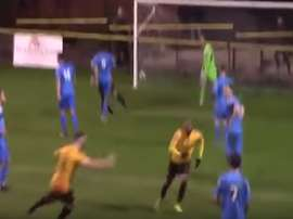 Daniel Dubidat scored a stunner for Alvechurch. AlvechurchTV