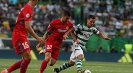 Sporting vence Oleiros e avança na Taça de Portugal. Twitter/SCP
