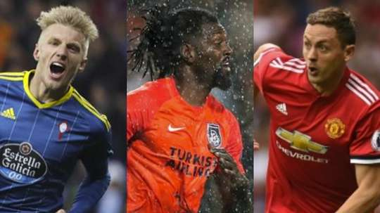 Wass, Adebayor and Matic have family in the footballing world. EFE/AFP/BeSoccer