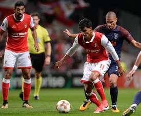 Equipa de Abel Ferreira está em grande na Liga Europa. Twitter/SCB