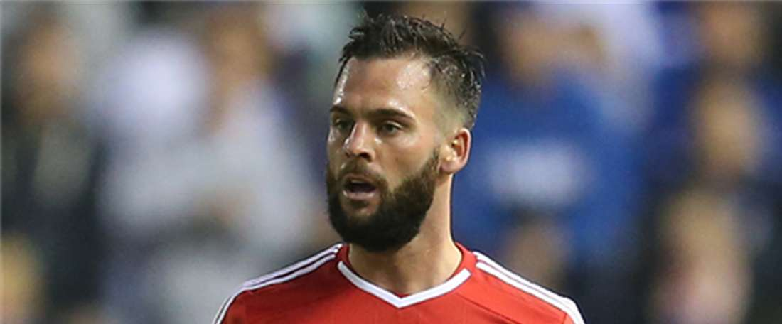 Danny Fox, jugador del Nottingham Forest. NottinghamForest