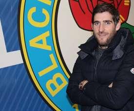 Danny Graham, jugador del Sunderland, jugará cedido en el Blackburn Rovers. Twitter