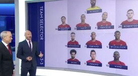 El once combinado de Liverpool y United que incendió las redes. Captura/SkySports