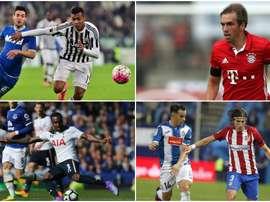 Danny Rose, Filipe Luis, Alex Sandro, Philipp Lahm son cuatro de ellos. BeSoccer