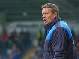 Danny Wilson deja atrás el Chesterfield. Chesterfield-FC