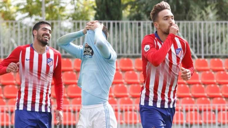 La alternativa a Diego Costa puede estar en Darío Poveda. ClubAtléticodeMadrid