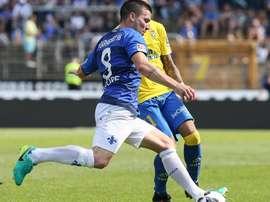 Darmstadt y Las Palmas empataron en el último amistoso de pretemporada de los insulares. SV98