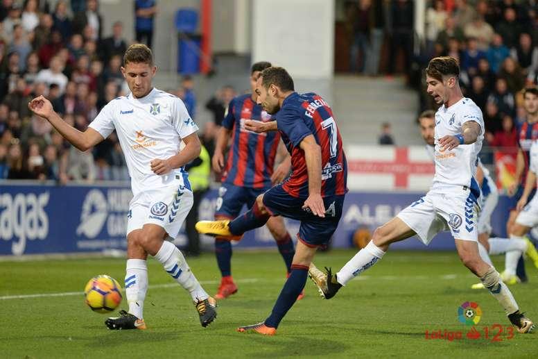 El Huesca visitará al Tenerife. LaLiga