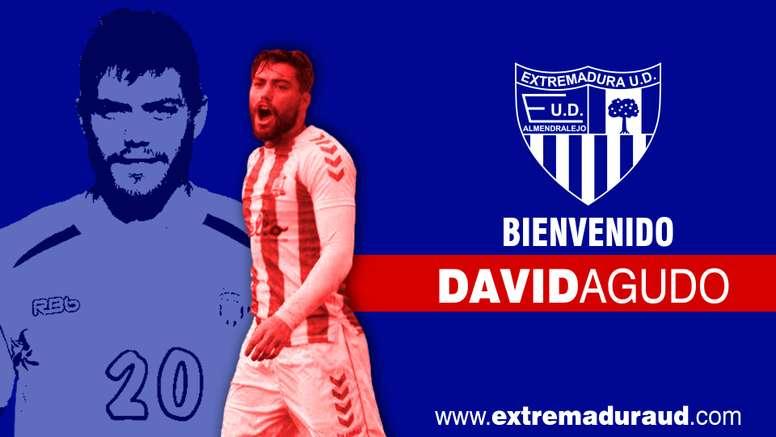 El Extremadura, feliz por contar con David Agudo. Extremadura