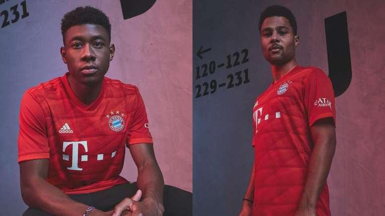 O Bayern apresenta o seu novo uniforme. Bayern