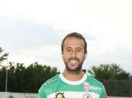 David Bandera, nuevo jugador del Racing de Ferrol. AtléticoAstorga