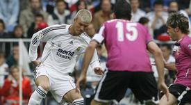 Cristian Hidalgo, a la derecha, jugó con los más grandes. EFE