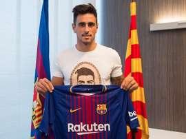 David Costas, dernier renfort de Gerard Lopez. Web/FCBarcelona