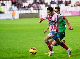 El centrocampista del Lugo ve a su equipo capaz de sacar un buen resultado en Oviedo. CDLugo