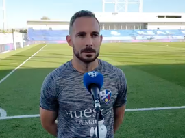 Ferreiro habló tras la derrota. Captura/SDHuesca
