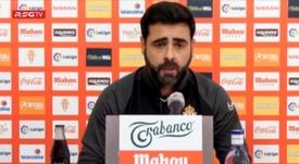 Gallego elogió al Mallorca en la previa del duelo. Captura/RSGTV