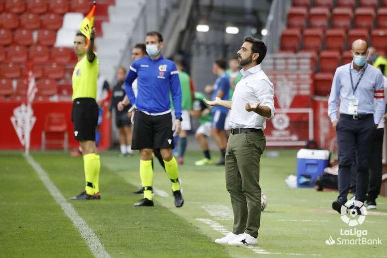 David Gallego alabó el ritmo del Málaga. LaLiga