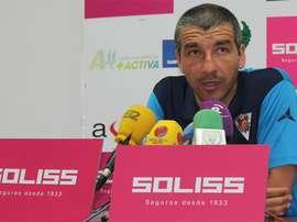 David García Cubillo, en su etapa como entrenador del Puerta Bonita. PortalToledano