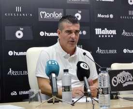 Gutiérrez fue presentado en el Castellón. Twitter/CDCastellón