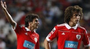 David Luiz revela admiração pelo ídolo de Messi. EFE
